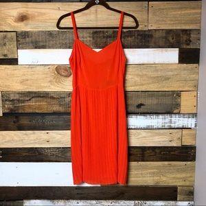 [ Sanctuary Clothing ] NWT Orange Pleated Dress